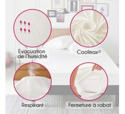 Protège oreiller régulateur coolmax
