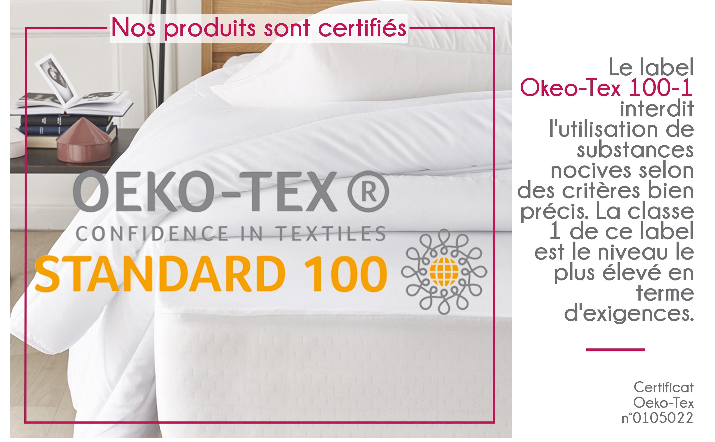 certifié oekotex